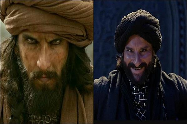 saif on comparing udaybhan vs khilji i don t take inspiration from anyone
