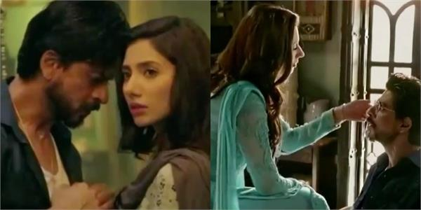 mahira khan share raees video and compare shahrukh khan with battery