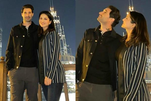 sunny leone shares photos of her dubai vacation