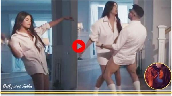priyanka chopra and nick jonas dance without pant user react on it