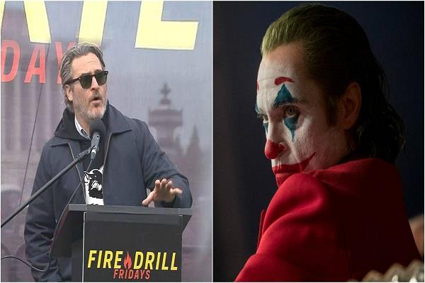 joker star joaquin phoenix arrested in climate change protest