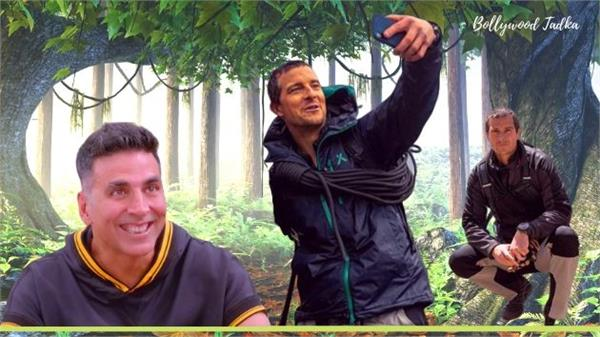 after rajinikant akshay kumar will work in bear grylls s show man vs wild