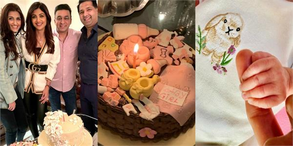 shilpa shetty welcome her newborn baby girl with her girl gang