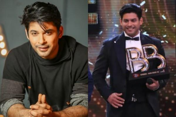 stars congratulating sidharth shukla for winning bigg boss trophy