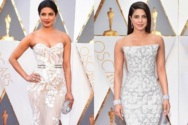 priyanka chopra shares throwback pics of oscar looks for fans