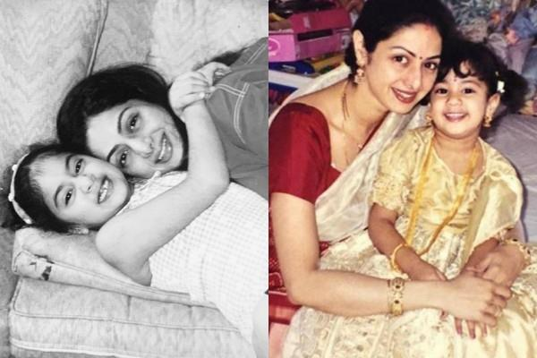 janhvi kapoor shares throwback picture on sridevi 2nd death anniversary