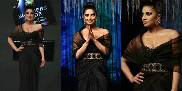 priyanka chopra looks gorgeous as she attends blenders pride fashion tour 2020