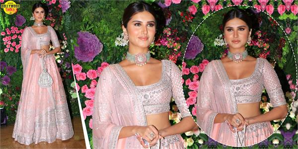 tara sutaria looks dazzles in shimmery traditional outfit