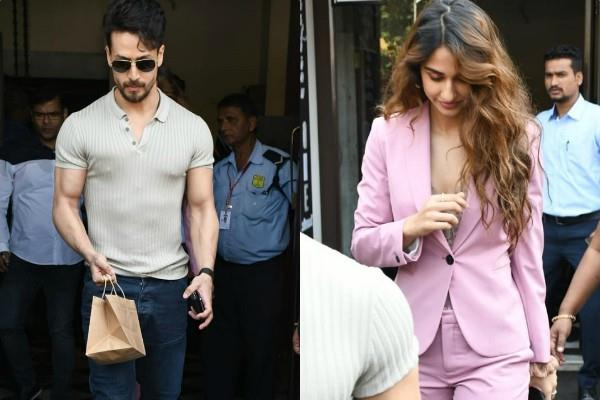 tiger shroff lunch date with girlfriend disha patani