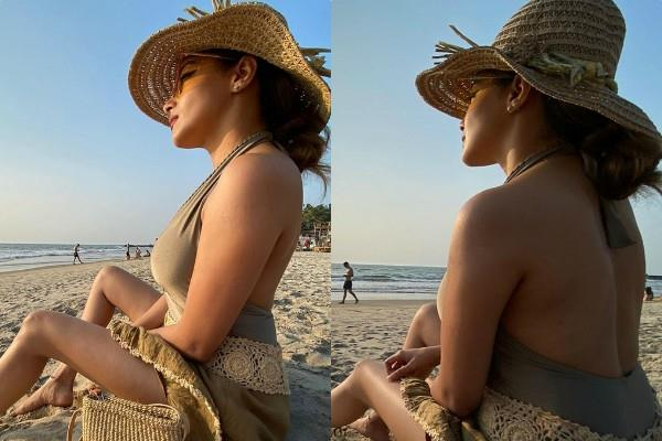 uttaran fame actress tina dutta looks bold in these beach pictures