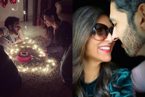 sushmita sen celebrates valentine with her boyfriend and daughter