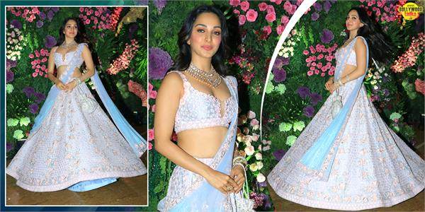 kiara advani looks beautiful as she attends armaan jain wedding