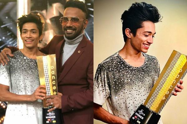 rupesh bane won the dance plus 5 trophy