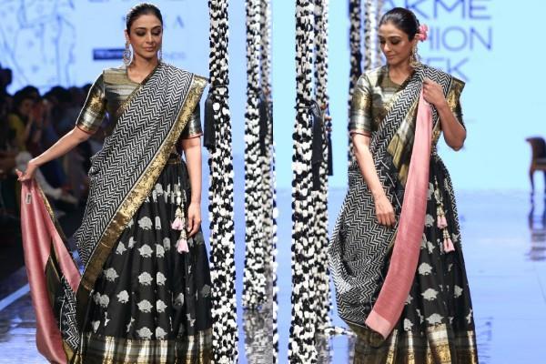 tabu walks for lakme fashion week