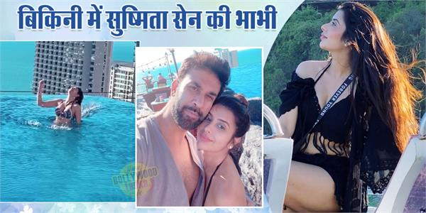 tv actress charu asopa romantic pictures with hushand rajeev sen