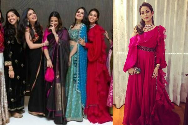 mira rajput shares pics her freind pre wedding bash