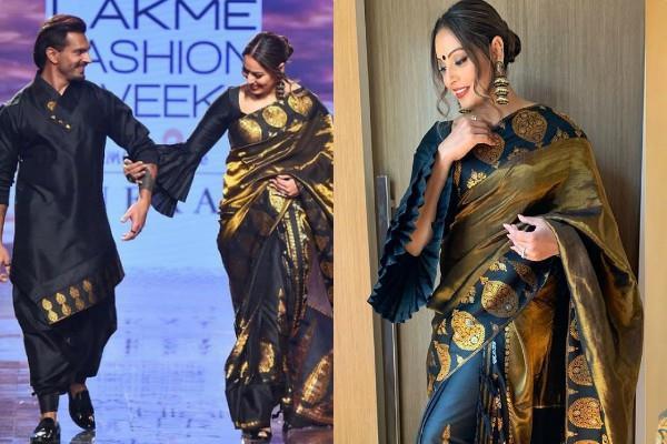 bipasha basu and karan singh walked for lakme fashion week