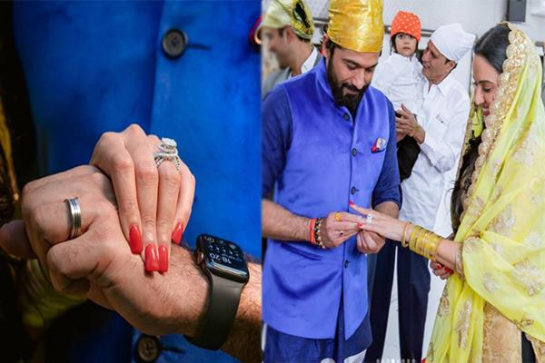 see inside pics of kamya panjabi engagements