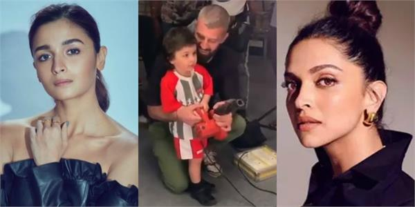 deepika padukone alia bhatt comment on taimur ali khan viral video
