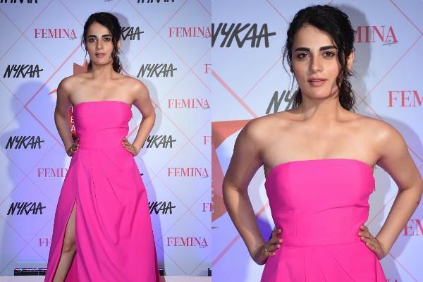 radhika madan stylish appearance at femina beauty awards