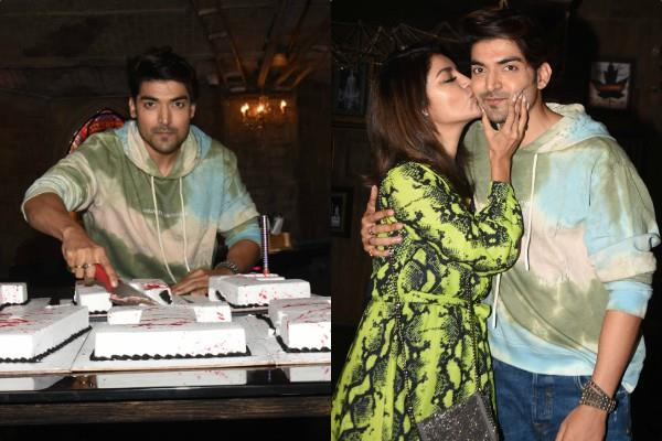 gurmeet choudhary celebrates his 33th birthday with wife
