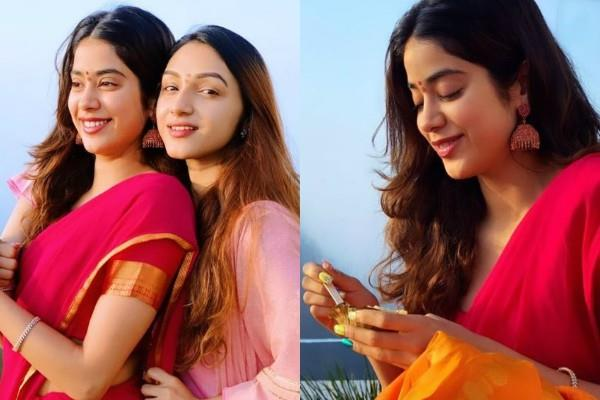 janhvi kapoor share beautiful pictures from tirupati balaji trip