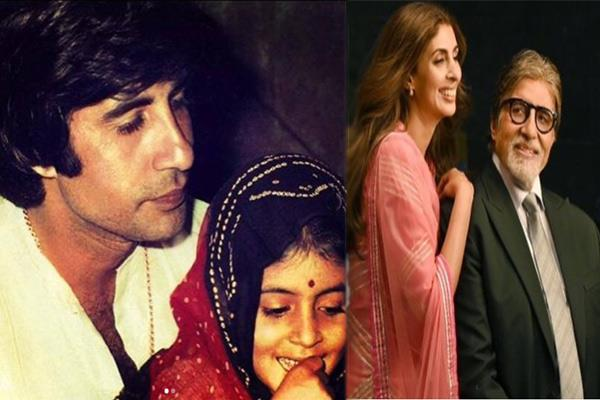 amitabh bachchan share emotional posts about shweta bachchan achievements