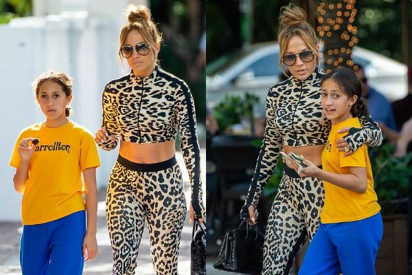 jennifer lopez dinner date with daughter