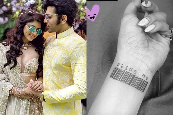 akanksha puri removed paras chhabra name tattoo