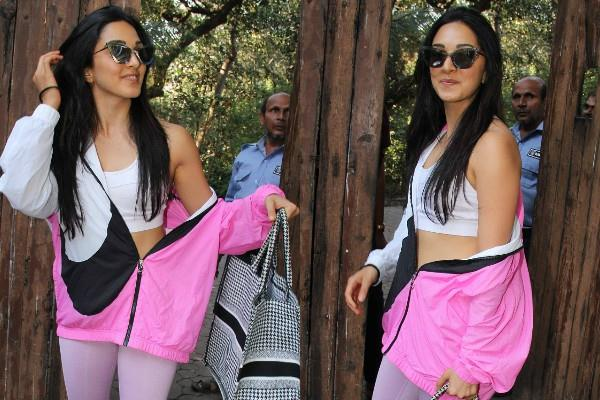 kiara advani spotted outside the dance class