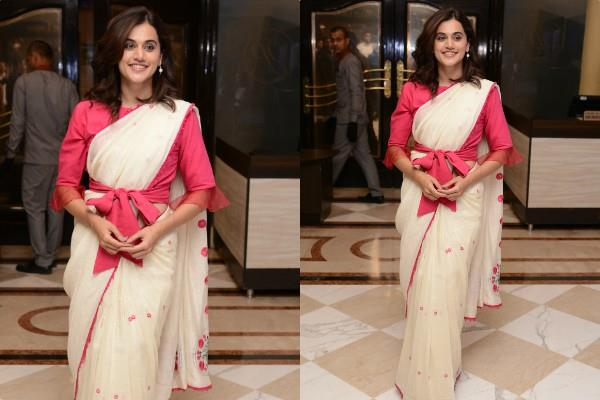 taapsee pannu promotes her upcoming film