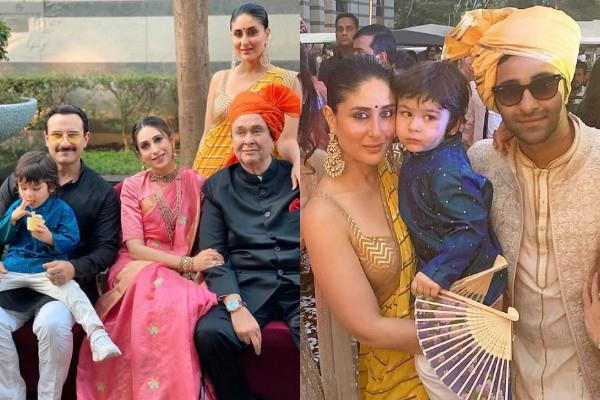 karisma kapoor shares family picture from armaan jain wedding