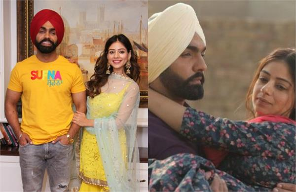 ammy virk and tania special interview for sufna movie