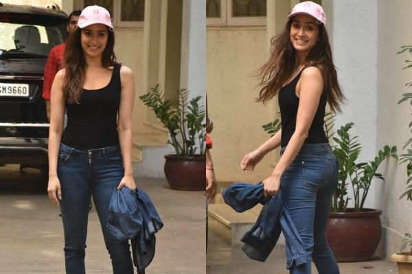 sharddha kapoor spotted at bandra