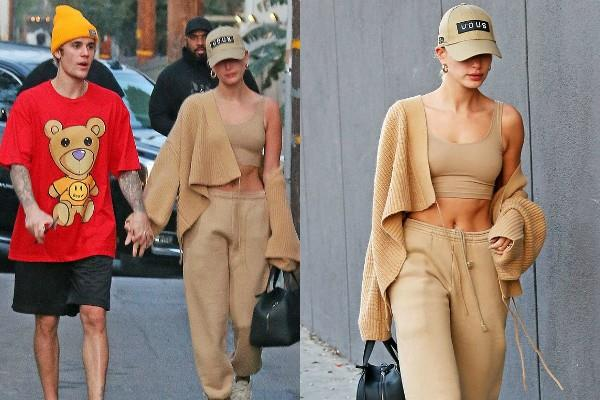 justin bieber outing with wife hailey baldwin bieber