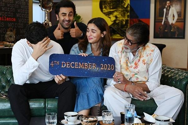 alia bhatt and ranbir kapoor film brahmastra will release on 4 december