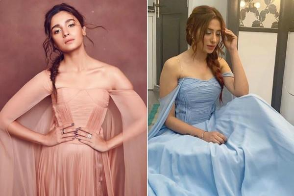 mahira sharma trolled for copying alia bhatt look
