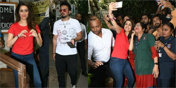 shraddha kapoor spotted at restaurant with boyfriend rohan shrestha