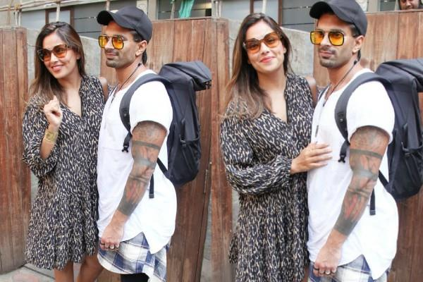 bipasha basu spotted at bandra with her husband