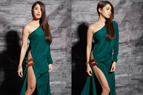 nushrat bharucha reacts to trollers for wearing bold dress