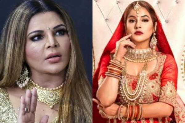 rakhi sawant blames to shehnaz gill for copying her swayamvar