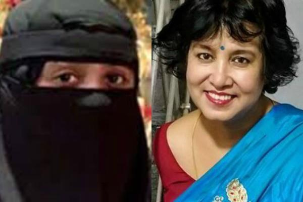 taslima nasreen comments on ar rahman daughter wearing burqa