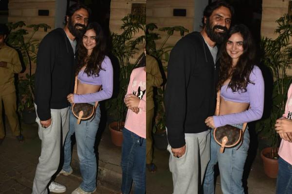 arjun rampal outing with girlfriend gabriella demetriades