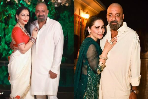 sanjay dutt wishes wife maanayata on 12 wedding anniversary