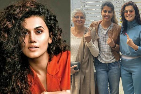 taapsee pannu slams trollers who questioned why are you voted in delhi
