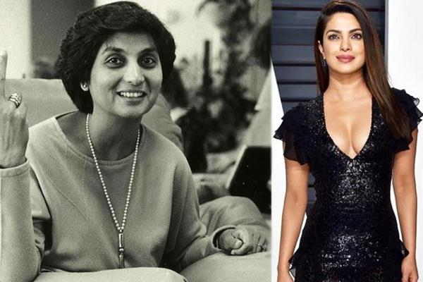 actress priyanka chopra is set to star as ma anand sheela in movie sheela