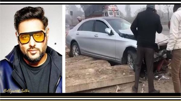 rapper badshah accident with car