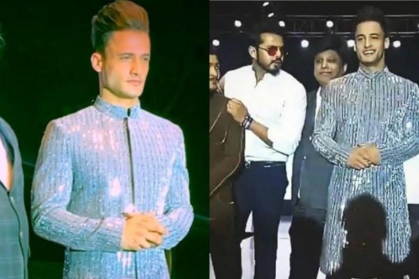 bigg boss contestants asim riaz sreesanth ramp walk in bangalore fashion show