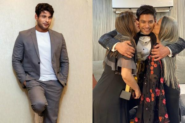 sidharth shukla emotional post for mother and sister on international women day