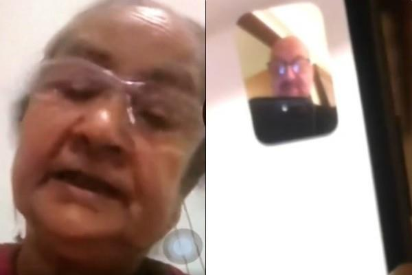 anupam kher in isolation so he video call to his mother